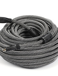 HDMI 1.4 Cable, HDMI 1.4 to HDMI 1.4 Cable Macho - Macho 20.0m (60 pies)