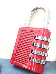 TOP-NICE Password Unlocked 3 Digit Password Luggage Lock Dail Lock and Password Lock