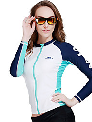 Couple Swimsuit Split Diving Suit Surfing Clothing Men and Women anti - Snorkeling Long - Sleeved Shorts Jellyfish Clothing