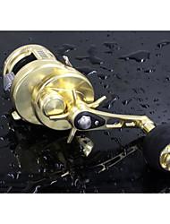 Reel Fishing Roulement Moulinet bait casting 6.2:1 10 Roulements à billes Droitier GaucherPêche en mer Pêche à la mouche Pêche d'eau