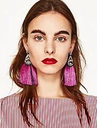 Femme Boucles d'oreille goutte Strass Mode Bohême euroaméricains Alliage Larme Bijoux Pour Soirée