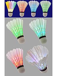 4pcs Legere Sport Badminton LED-Lampen LED Licht LED Licht Leichtes Material für Styropor