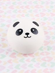 Artificial Panda Roll Foam Decor Fake Fruits Slow Rebound Toys Simulation Fruit Panda Roll Model/Yellow