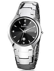 Men's Fashion Watch Wrist watch Quartz Calendar Stainless Steel Band White Gold Rose Gold