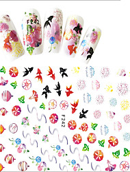 1 Стикер искусства ногтя Женская униформа 3-D Компоненты для самостоятельного изготовления Стикер макияж Косметические Ногтевой дизайн