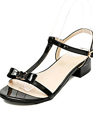 Для женщин Сандалии Классика Милая Мода клуб Обувь Полиуретан Весна Лето Вечерние Повседневные На выход Классика Милая Мода клуб Обувь