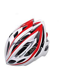 Мужской Велоспорт шлем Вентиляционные клапаны Велоспорт Горные велосипеды Шоссейные велосипеды Велосипедный спорт Стандартный размер