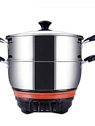 Kitchen Alumium Alloy 220V Multi-Purpose Pot Food Steamers