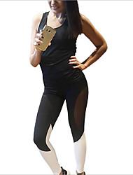 Mulheres Calças de Corrida Fitness, Corrida e Yoga Secagem Rápida Esportes Meia-calça paraIoga Correr Acampar e Caminhar Exercício e