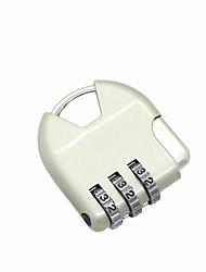 Cadeado de senha de metal senha de 3 dígitos bloqueio anti-roubo mochila compartimento de bagagem livreto bloqueio mini cadeado cadeado