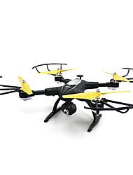 Drone JJRC H39WH Black 4CH 6 Eixos Com Câmera HD de 720PFPV Iluminação De LED Modo Espelho Inteligente Vôo Invertido 360° Acesso à