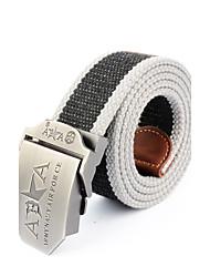 Masculino Listrado Escritório/Negócio Liga Listas Cinto para a Cintura,Patchwork