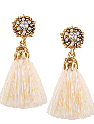 Euramerican Fashion Casual Unique Luxury Female Statement Jewelry Ladies Elegant Drop Earrings For Women Bohemian Dangle Earrings Reisn Tassels