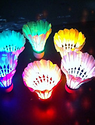 4pcs Legere Sport Badminton LED-Lampen LED Licht LED Licht Leichtes Material für Kork