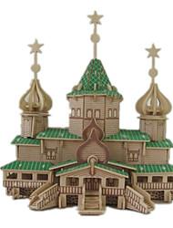 Puzzles Kit de Bricolage Puzzles 3D Blocs de Construction Jouets DIY  Bois