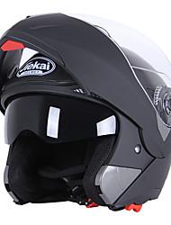 Jet Transparente Respirante Cara-Completa Paño de limpieza Casco con Googles Los cascos de motocicleta