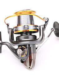 Reel Fishing Roulement Moulinet spinnerbaits 5.2:1 13 Roulements à billes EchangeablePêche d'eau douce Bateau de pêche / Pêche à la