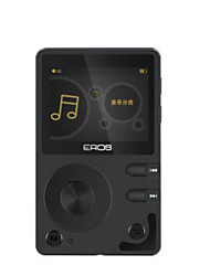 Hi FiPlayer16GB Jack 3.5 mm Cartão Micro SD Botão