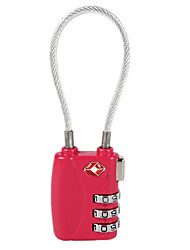 JUST TSA719  Password Unlocking 3 Digit Password Luggage Lock Dail Lock Password Lock TSA Lock
