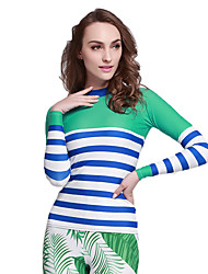 Amazon Direct Supply Korea Long-sleeved Sailor Sunscreen Large Size Sunshine Surfing Service Speed dry Gas Yoga Jellyfish Clothing