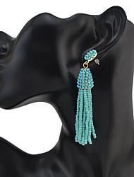 Women's Drop Earrings JewelryUnique Design Dangling Style Tassel Friendship Bohemian Punk Personalized Hip-Hop Rock Multi-ways Wear