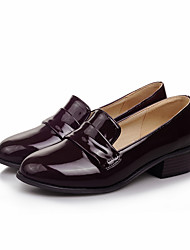 Women's Loafers & Slip-Ons Gladiator Leatherette Fall Casual Dress Gladiator Low Heel Ruby Brown Gray Black Flat
