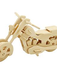Puzzles Kit de Bricolage Puzzles 3D Blocs de Construction Jouets DIY  Moto Bois