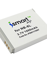 Ismartdigi 6L 3.7V 1000mAh Camera Battery for Canon IXUS 95 210 105 310 S90 S95 SX500