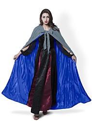 Casaco Fantasias de Cosplay Capa Vassoura de Bruxa Festa a Fantasia Baile de Máscara Artigos de HalloweenMago/Bruxa Fantasma Vampiros
