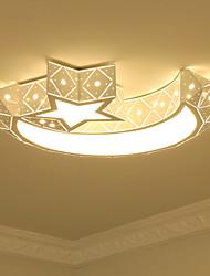 Montaggio 24w moderni / contemporanei a filo per metallo condotto da salotto camera da letto camera da letto sala da pranzo / ufficio