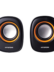 HYUNDAI HY-66T Speaker Bluetooth 3.0 Channel 2.0 More Compatible Mini Guide Hole