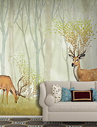 Pattern Wallpaper For Home Modern Wall Covering  Non-woven fabric Material Adhesive required Mural  Room Wallcovering