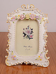 2 PC Picture Frames Country Retro Novelty Resin Room Decoration Stereo Family