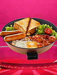Multi-function Electric Hot Pot Non-stick Barbecue Electric Hot Pot