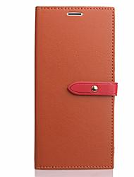 Étui pour Apple iphone 7 plus 6 plus porte-carte de couverture de boîtier avec support flip tout le corps corps solide cuir dur pu pour