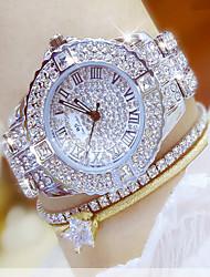 New Women Rhinestone Watches Lady Dress Women watch Diamond Luxury brand Bracelet Wristwatch ladies Crystal Quartz Clocks