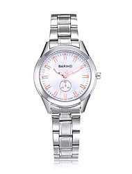 jewelora Mulheres Casal Relógio Elegante Relógio de Moda Relógio de Pulso Chinês Quartzo Impermeável Resistente ao Choque Mostrador Grande