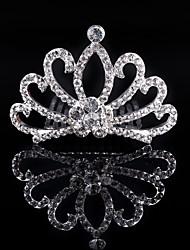 2017 New Children's Hair Comb Bridal Crown Kid Jewelry Girls Tiaras Wedding Gifts Bride Headwear Accessories Women