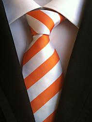 Homme Cravate Cravate,Rayures Toutes les Saisons