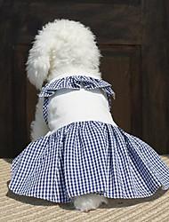 Chien Robe Vêtements pour ChienSoirée Cosplay Anniversaire Vacances cow-boy Décontracté / Quotidien Mariage Sportif Mode Halloween Noël
