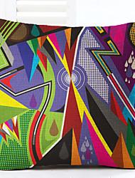 1 pcs Lin Taie d'oreiller,Géométrique Moderne/Contemporain Moderne