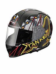 Tanked Racing T-126  Motorcycle Helmet  Electric Car Helmet Helmet Cool Ride Equipment Black Lancome Version