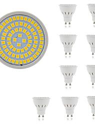 5W Faretti LED MR16 80 SMD 2835 400 lm Bianco caldo Luce fredda Decorativo AC 220-240 V 10 pezzi