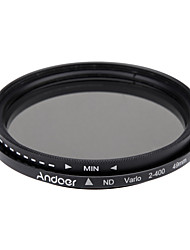 Andoer 49mm nd fader neutral dichte einstellbar nd2 zu nd400 variabler filter für canon nikon dslr kamera
