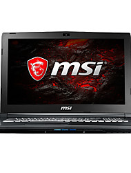 Ordenador portátil del juego del msi 17.3 pulgadas intel i7-7700hq 8gb ddr4 1tb hdd 128gb ssd windows10 gtx1050 4gb gl72 7rdx-623cn