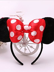 1pc Lovely Girls Bows Knot Minnie Mickey Mouse Ears Baby Hair Accessories Headband Kids Boys Birthday Party Christmas Hairbands