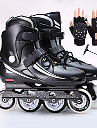 Skates Adult Professional Straight Flower Shoes Roller Skating Shoes Adult Men And Women