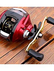 Reel Fishing Roulement Moulinet bait casting 6.3:1 11 Roulements à billes Droitier GaucherPêche en mer Pêche à la mouche Pêche d'eau