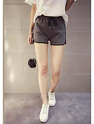 Women's High Waist Inelastic Straight Slim Pants,Simple Straight Solid
