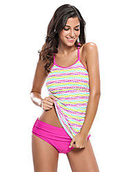 Women's Halter Tankini High Rise Polka Dot